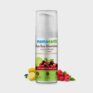 Mama earth Bye Bye Blemishes Face Cream 30g