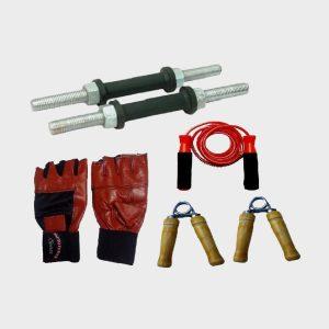 Facto power counter hand grip gun style,wrist band gym & fitness kit
