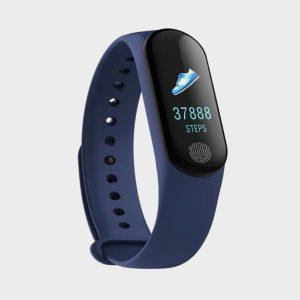 IBS M3 PLUS IP67 Waterproof Blood Pressure Sleep Heart Rate Wristband