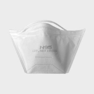 N95 Disposable Respirator (Single Piece)