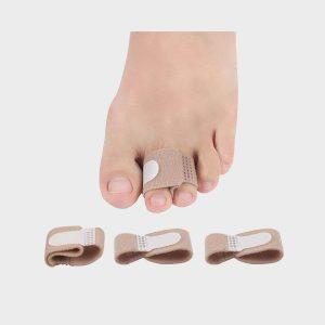 Digital Shoppy Splint Wraps Fabric Toe Finger Separator and Straightener Hallux Valgus Corrector Bandage