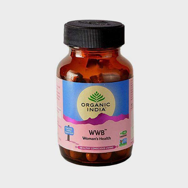 Organic India WWB (Women's Well Being) Veg Capsules - 60Capsules