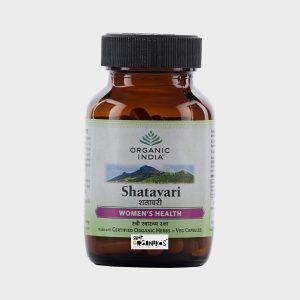 Organic India Shatavari 60 Capsules