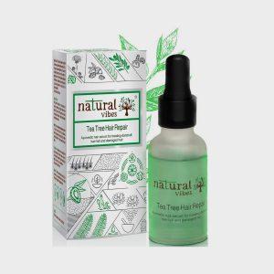 Natural Vibes Tea Tree Ayurvedic Hair Repair Serum 30ml