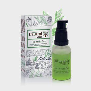 Natural Vibes Tea Tree Ayurvedic Skin Care Serum 30ml