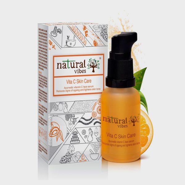 Natural Vibes Ayurvedic Vitamin C Serum online