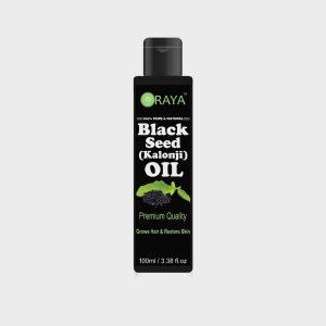 ORAYA Pure & Natural Black Seed Oil Cold Pressed Hair Oil – 100ml