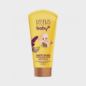 Lotus Herbals Baby Plus Happy Bums Diaper Rash Creme – 100g
