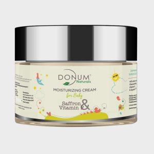 Donum Naturals Saffron & Vitamin F Moisturising Cream for Baby – 60g