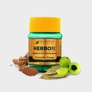Herbofit: Ayurvedic Chyawanprash Capsules – Pack of Two