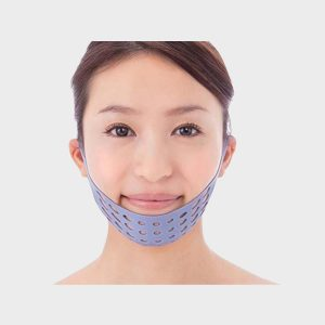 V Shape Face Line Belt That Acts As A Mask