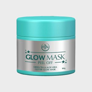 The Beauty Co. Green Tea & Aloe Vera Glitter Glow Mask 100 gm