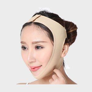 V Shape Anti Ageing Wrinkle Free Beauty Face Slimming Chin Cheek Slim Lift Up Lifting V Line Belt Strap Mask Band Bandage - For Women Girl Female (Skin)