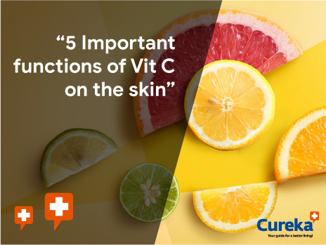 important functions of vitamin c