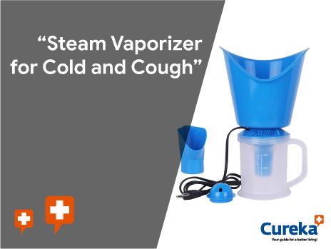 blue colur steam vaporizer machine
