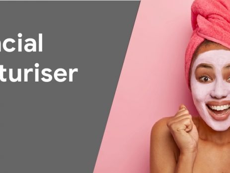 facial moisturizer effect applied on skin