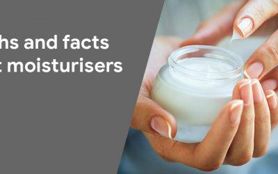 myth facts on moisturiser