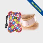 Dyna Hard Cervical Collar & POCT Electric Gel Pad
