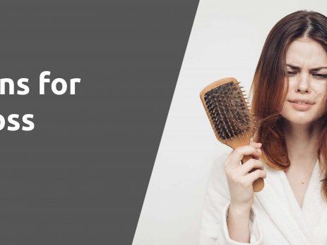vitamins hair loss