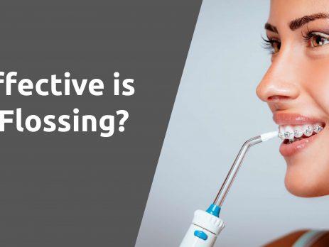 water flossing effectiveness