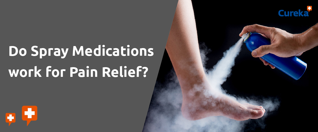 pain relief spray medication