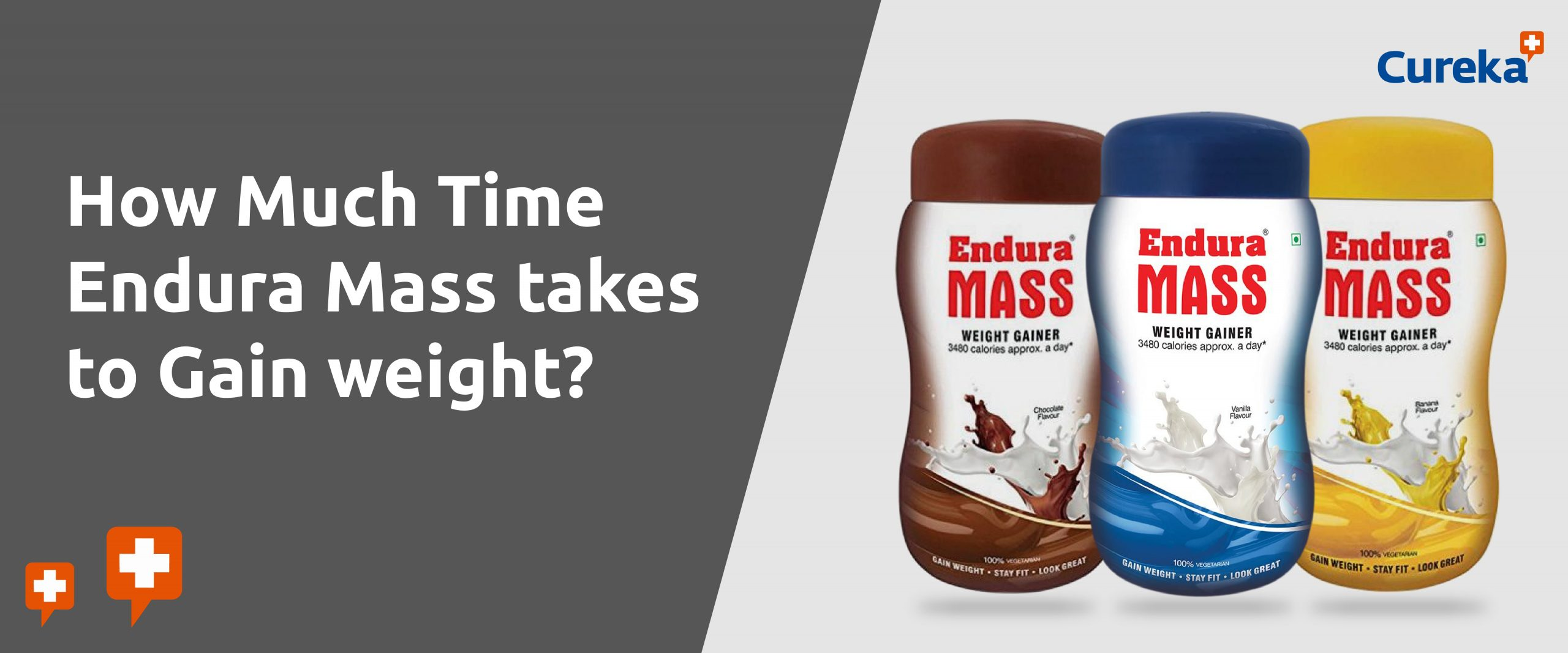 time endura mass takes to gain weight